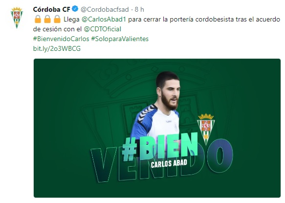 Altas y Bajas confirmadas Liga 1.2.3 Temporada 2018-2019 - Página 3 Carlos18