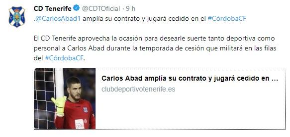 Altas y Bajas confirmadas Liga 1.2.3 Temporada 2018-2019 - Página 3 Carlos19