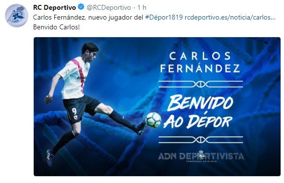 Altas y Bajas confirmadas Liga 1.2.3 Temporada 2018-2019 - Página 3 Carlos20