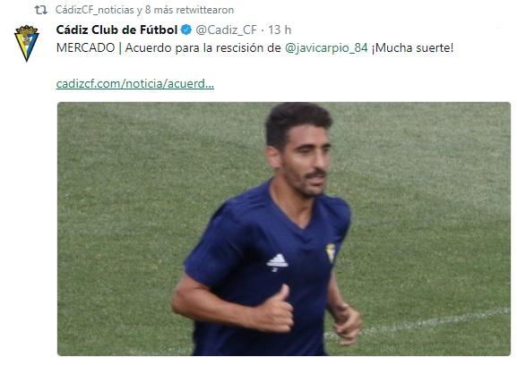 Altas y Bajas confirmadas Liga 1.2.3 Temporada 2018-2019 - Página 3 Carpio10