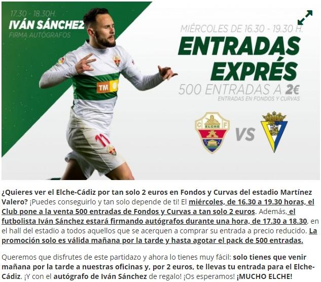 [J29] Elche C.F. - Cádiz C.F. - Sábado 09/03/2019 20:30 h. #ElcheCádiz Cartel13