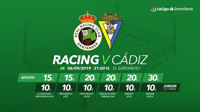 [J04] R. Racing Club - Cádiz C.F. - Viernes 06/09/2019 21:00 h. #RacingCádiz Cartel15
