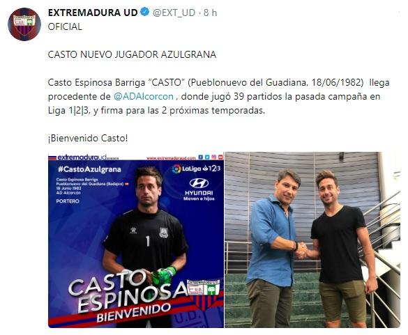 Altas y Bajas confirmadas Liga 1.2.3 Temporada 2018-2019 - Página 2 Casto10