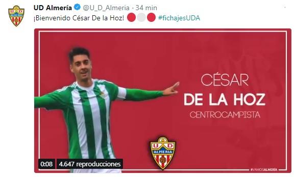 Altas y Bajas confirmadas Liga 1.2.3 Temporada 2018-2019 Cesar_10