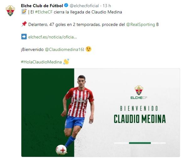 Altas y Bajas confirmadas Liga 1.2.3 Temporada 2018-2019 - Página 2 Claudi10