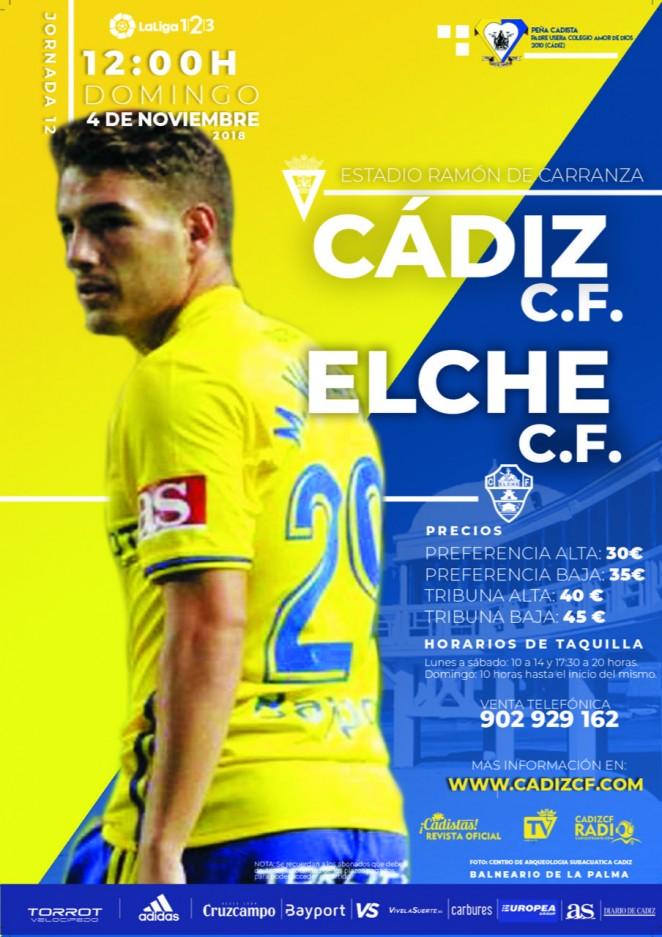 [J12] Cádiz C.F. - Elche C.F. - Domingo 04/11/2018 12:00 h. Czediz19