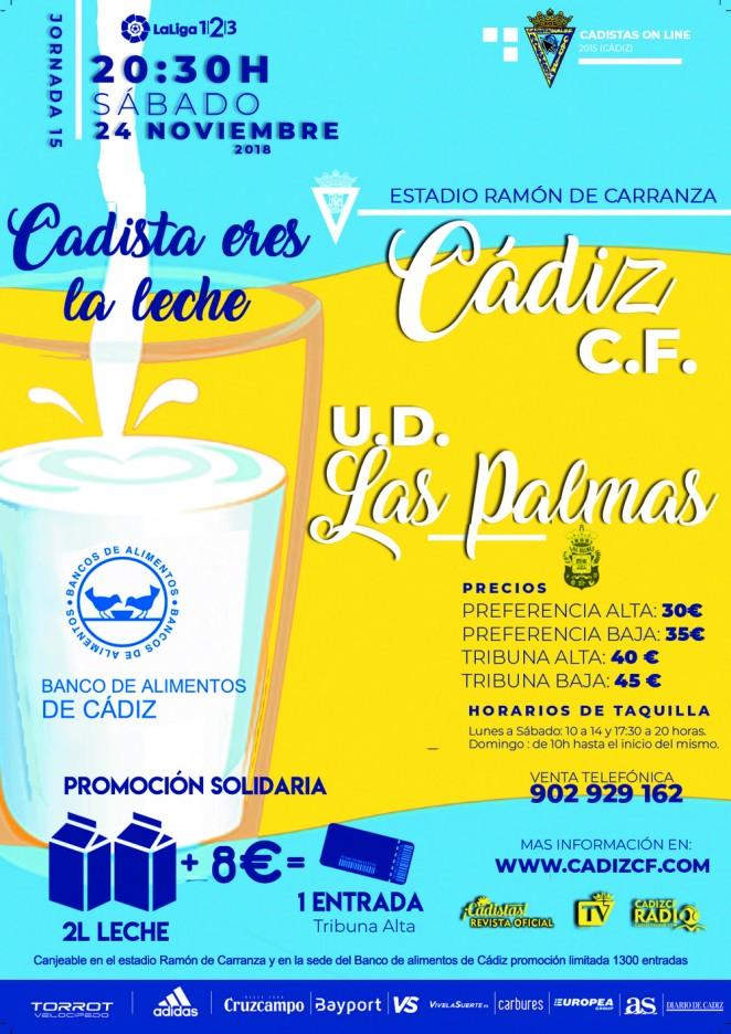 [J15] Cádiz C.F. - U.D. Las Palmas - Sábado 24/11/2018 20:30 h. Czediz24