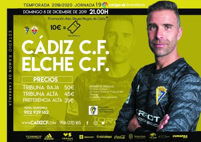 [J19] Cádiz C.F. - Elche C.F. - Domingo 8/12/2019 21:00 h. #CádizElche Czediz62