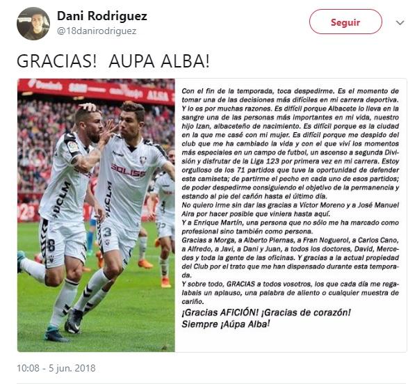 Altas y Bajas confirmadas Liga 1.2.3 Temporada 2018-2019 Dani_r10