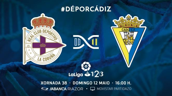 [J38] R.C. Deportivo de la Coruña - Cádiz C.F. - Domingo 12/05/2019 16:00 h. #DéporCádiz Depor-10