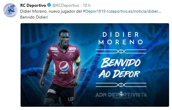 Altas y Bajas confirmadas Liga 1.2.3 Temporada 2018-2019 - Página 2 Didier10