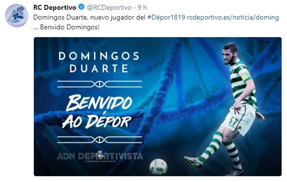 Altas y Bajas confirmadas Liga 1.2.3 Temporada 2018-2019 - Página 2 Duarte10