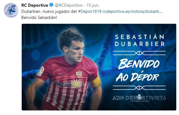 Altas y Bajas confirmadas Liga 1.2.3 Temporada 2018-2019 Durbar10
