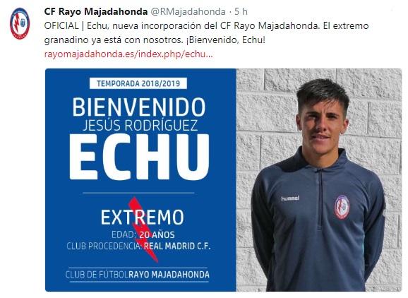 Altas y Bajas confirmadas Liga 1.2.3 Temporada 2018-2019 Echu10