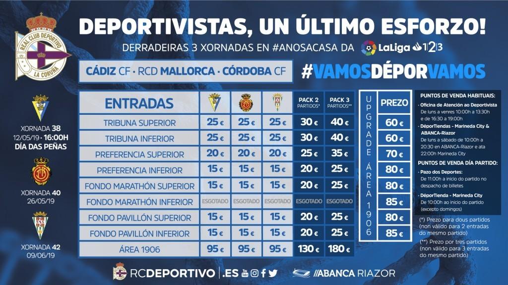 [J38] R.C. Deportivo de la Coruña - Cádiz C.F. - Domingo 12/05/2019 16:00 h. #DéporCádiz Entrad11