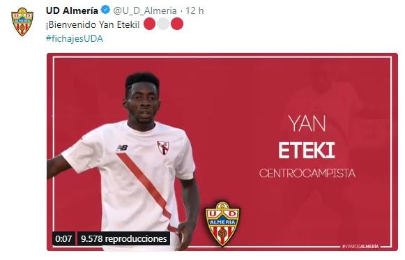 Altas y Bajas confirmadas Liga 1.2.3 Temporada 2018-2019 - Página 3 Eteki10
