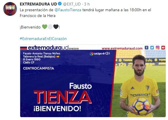 Altas y Bajas confirmadas Liga 1.2.3 Temporada 2018-2019 Fausto11