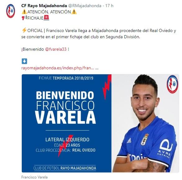 Altas y Bajas confirmadas Liga 1.2.3 Temporada 2018-2019 Franci10