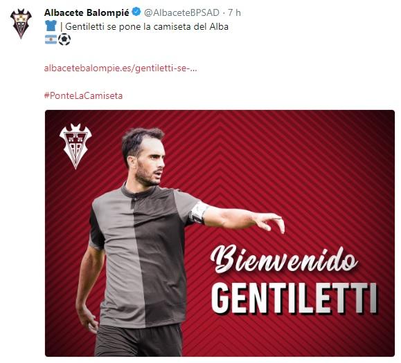Altas y Bajas confirmadas Liga 1.2.3 Temporada 2018-2019 - Página 3 Gentil10
