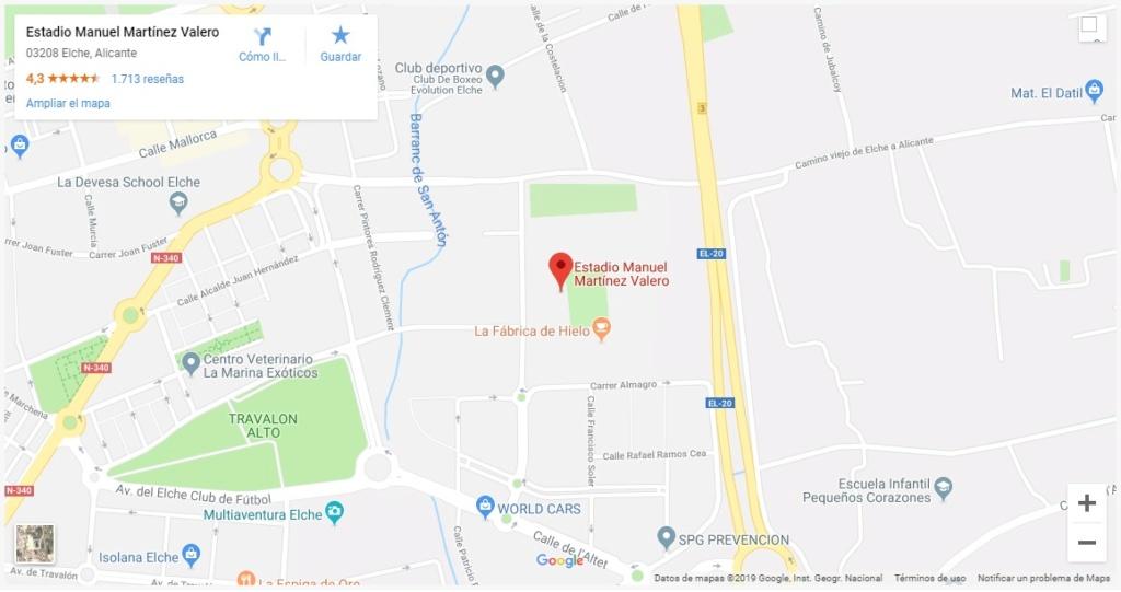 [J29] Elche C.F. - Cádiz C.F. - Sábado 09/03/2019 20:30 h. #ElcheCádiz Google10