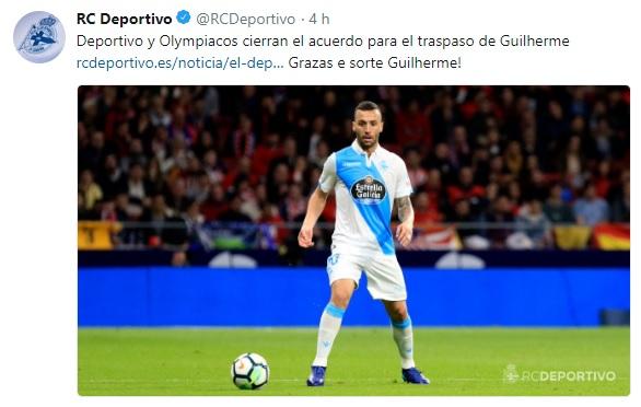 Altas y Bajas confirmadas Liga 1.2.3 Temporada 2018-2019 - Página 2 Guilhe10