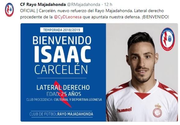 Altas y Bajas confirmadas Liga 1.2.3 Temporada 2018-2019 - Página 2 Isaac_10
