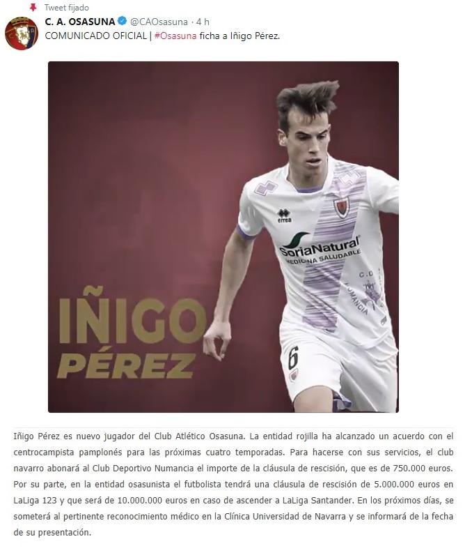 Altas y Bajas confirmadas Liga 1.2.3 Temporada 2018-2019 Izigo_12