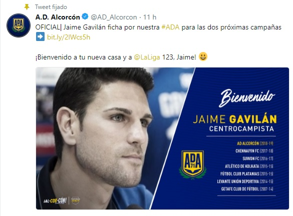 Altas y Bajas confirmadas Liga 1.2.3 Temporada 2018-2019 Javi_g10