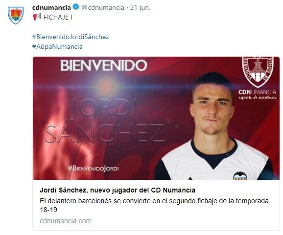 Altas y Bajas confirmadas Liga 1.2.3 Temporada 2018-2019 Jordi_10