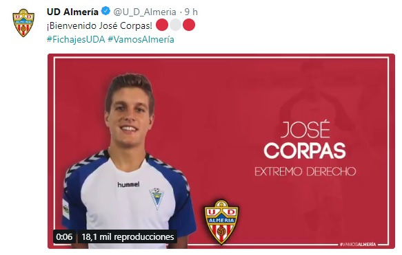 Altas y Bajas confirmadas Liga 1.2.3 Temporada 2018-2019 Jose_c10