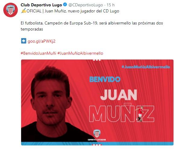 Altas y Bajas confirmadas Liga 1.2.3 Temporada 2018-2019 Juan_m10