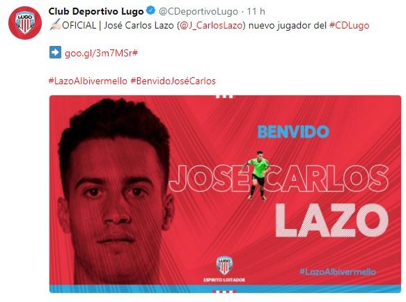 Altas y Bajas confirmadas Liga 1.2.3 Temporada 2018-2019 - Página 2 Lazo10