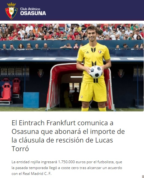 Altas y Bajas confirmadas Liga 1.2.3 Temporada 2018-2019 Lucas_10