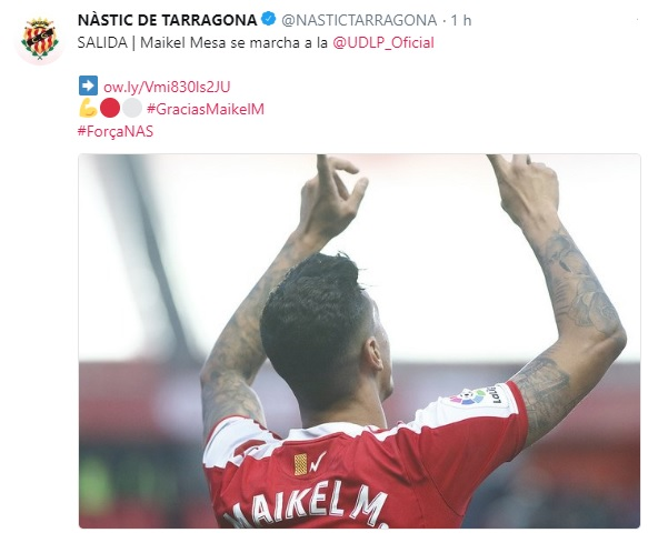 Altas y Bajas confirmadas Liga 1.2.3 Temporada 2018-2019 - Página 2 Maikel11