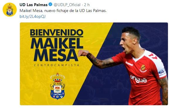 Altas y Bajas confirmadas Liga 1.2.3 Temporada 2018-2019 - Página 2 Maikel12