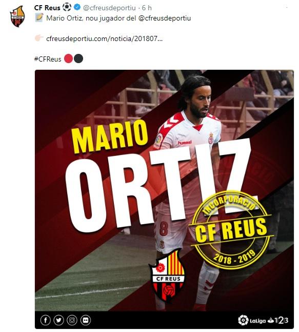 Altas y Bajas confirmadas Liga 1.2.3 Temporada 2018-2019 Mario_11