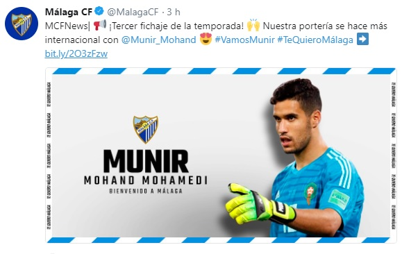 Altas y Bajas confirmadas Liga 1.2.3 Temporada 2018-2019 Munir10