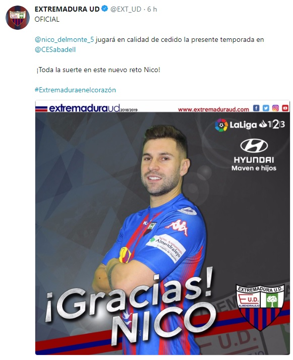Altas y Bajas confirmadas Liga 1.2.3 Temporada 2018-2019 - Página 3 Nico10