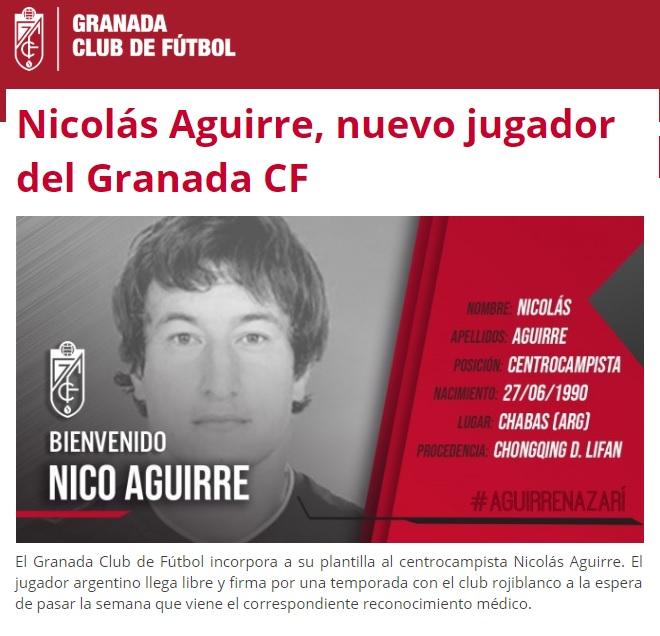 Altas y Bajas confirmadas Liga 1.2.3 Temporada 2018-2019 Nico_a11