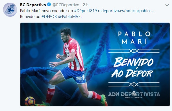 Altas y Bajas confirmadas Liga 1.2.3 Temporada 2018-2019 Pablo_10