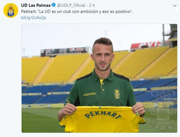 Altas y Bajas confirmadas Liga 1.2.3 Temporada 2018-2019 - Página 2 Pekhar10