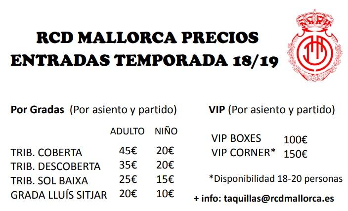 [J04] R.C.D. Mallorca - Cádiz C.F. - Viernes 07/09/2018 21:00 h. Precio11