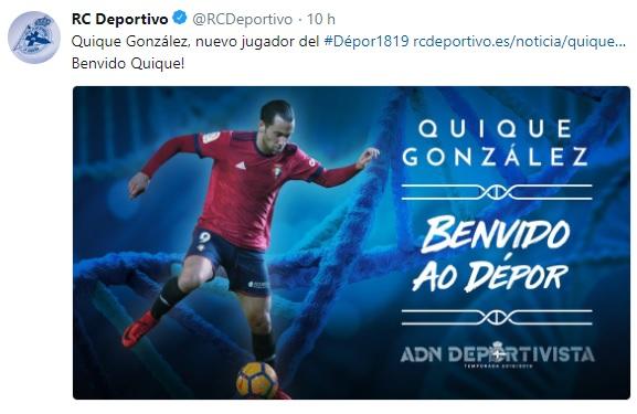 Altas y Bajas confirmadas Liga 1.2.3 Temporada 2018-2019 Quique10