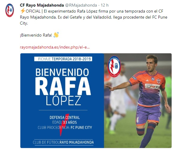 Altas y Bajas confirmadas Liga 1.2.3 Temporada 2018-2019 Rafa_l10