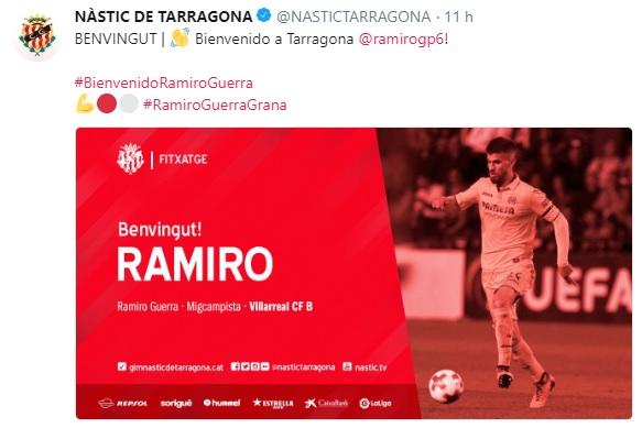 Altas y Bajas confirmadas Liga 1.2.3 Temporada 2018-2019 - Página 3 Ramiro10