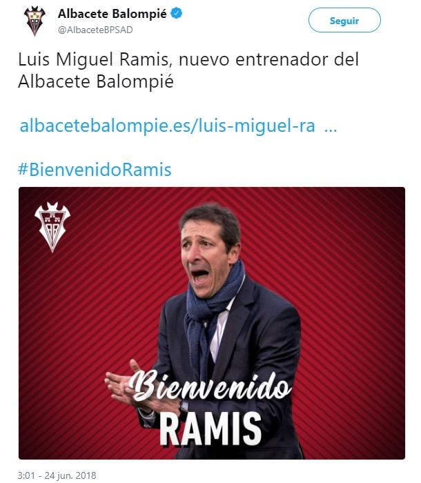 Altas y Bajas confirmadas Liga 1.2.3 Temporada 2018-2019 Ramis10