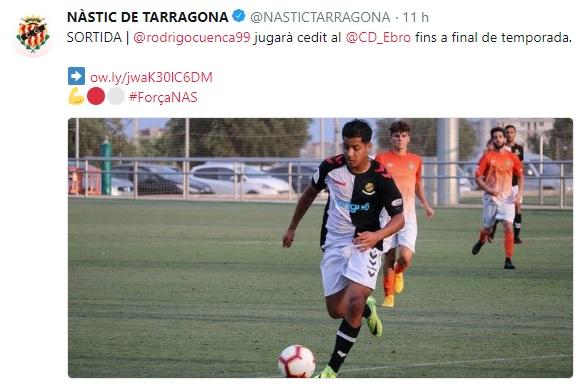 Altas y Bajas confirmadas Liga 1.2.3 Temporada 2018-2019 - Página 3 Rodrig11