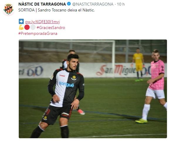 Altas y Bajas confirmadas Liga 1.2.3 Temporada 2018-2019 Sandro10