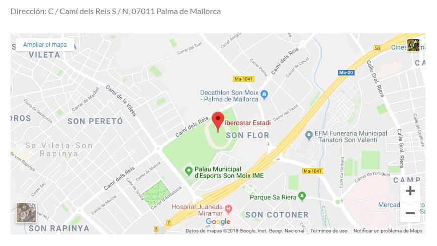[J04] R.C.D. Mallorca - Cádiz C.F. - Viernes 07/09/2018 21:00 h. Situac10
