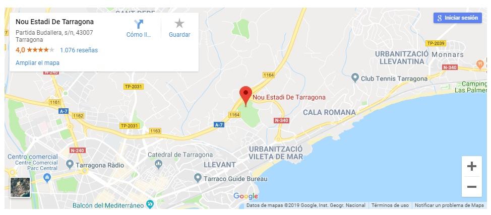 [J27] C. Gimnástic de Tarragona - Cádiz C.F. - Sábado 23/02/2019 18:00 h. #NàsticCádiz Situac17